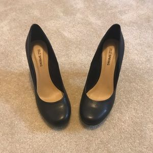 Call It Spring Black Work Pumps